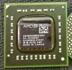what is amd e2 1800 accelerated processor