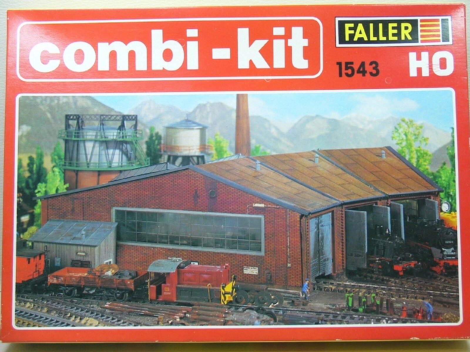 Faller 1543 Combi-KIT kit di ho molto molto raro per collezionisti qualcosa Exclusives