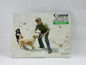 Canon-AE-1-Program-Instruction-Manual-Genuine-Ref-B