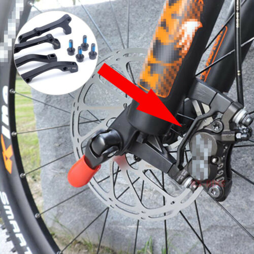 MTB Bike Disc Brake Caliper Adapter Post Mount Rotor Front Rear For Road Bicycle