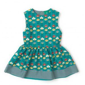 Little Green Radicals Organic Playaway Dress under sea shallows 2 3 4 5 6 7 8