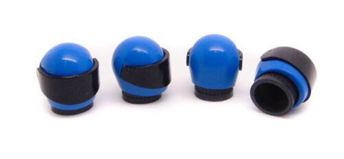 Blue Stig x4 Geniune Lego casco Tapas De La Válvula Bolsa de Regalo Santa Secreto Divertido