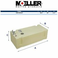 Moeller 32527 27 Gallon Below Deck Permanent Marine Fuel Tank on sale