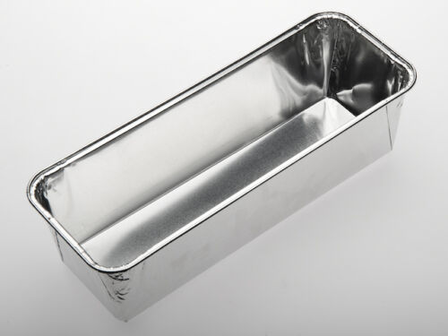 320x166x82 mm wh224 100 PCS Aluminium leberkäsformen Aluschalen Loaf Shape 2800 ML