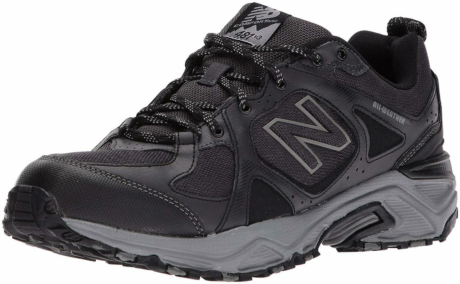 New Balance Men's 481V3 Water Resistant Cushioning Trail Running shoes