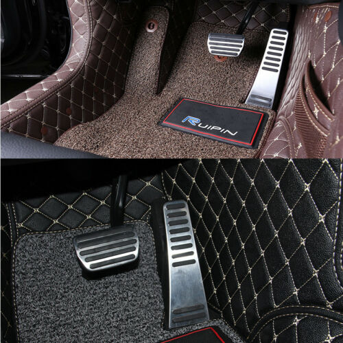 rubber Accelerator Pedal Pads Cover Kit VOLVO XC60 2018 Aluminum alloy
