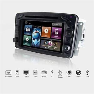 DYNAVIN-2-DIN-Navi-Multimediageraet-USB-DVD-Bluetooth-BT-Mercedes-C-W203-CLK-W209