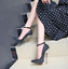 thumbnail 6 - Women Sequins Super High Heel Pointy Toe Party Stiletto Buckle Ankle Strap Shoes