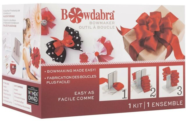 Darice BOW1003 Bowdabra Bow Maker and Craft Tool