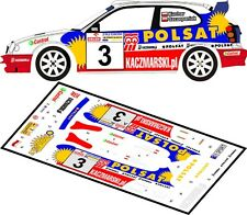 DECALS 1/43 TOYOTA COROLLA WRC - #3 - KUCHAR - RALLYE KORMORAN 2002 - D43077