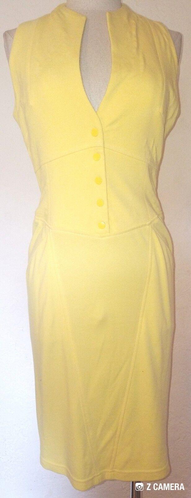 Catherine Malandrino Bright Yellow Dress Size S  - image 1