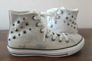 d08d425aab82 New Converse All Star Stud Hardware Chuck Taylor Hi Shoes Sneaker ...