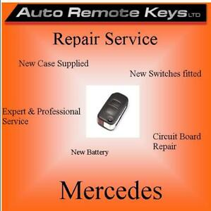 Details about MERCEDES BENZ FLIP Remote key Battery replacement & repair  service
