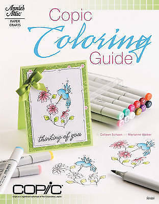 1 of 1 - Copic Coloring Guide by Colleen Schaan, Marianne Walker (Paperback, 2011)