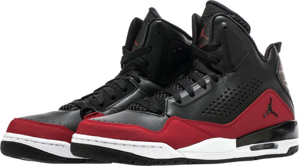 NEW Nike Air Jordan Men's SC-3 Shoes Black Red White 629877 009 Size 11 / 12