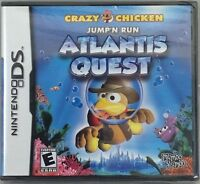 Crazy Chicken: Atlantis Quest (nintendo Ds, 2009) (6027-br11)