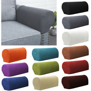2pcs Premium Armrest Covers Stretchy Chair Sofa Couch Arm