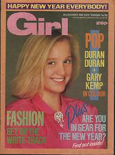 Girl  Magazine 29 December 1984          Duran Duran      Sheena Easton