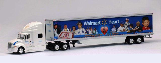 TONKIN 1 53 53 53 SCALE WALMART HEART - INTERNATIONAL PROSTAR MODEL   BN   11005501 b2a68d