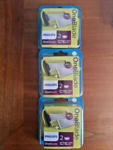 Philips-Oneblade-Replacement-blades-with-Body-Kit-QP620-One-Blade-3x-Packs