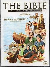 The Bible...In the Beginning (DVD, 2006, Widescreen Sensormatic) New
