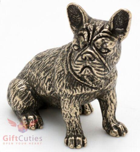 Bronze Figurine of French Bulldog dog