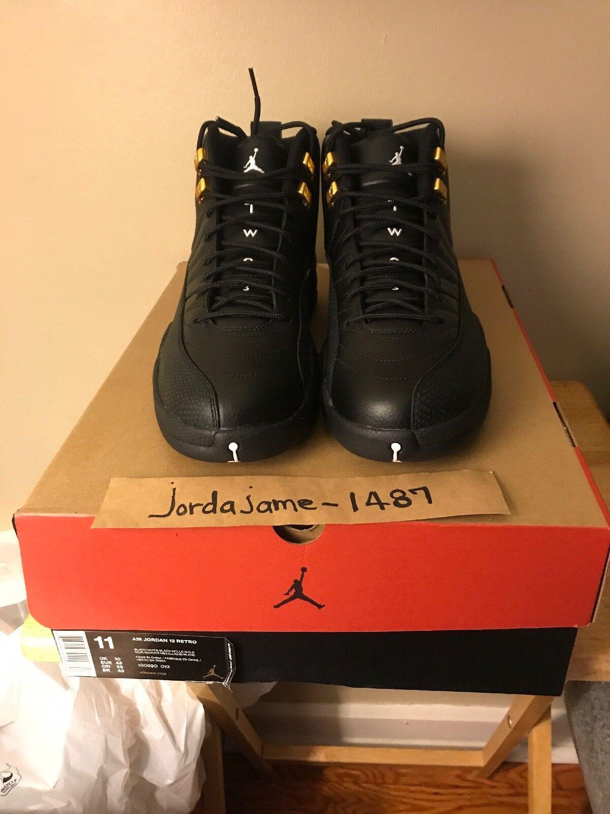 Men's Nike Air Jordan 12 Retro shoes -  The Master  - Size 11 -