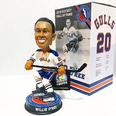 "WILLIE O'REE San Diego Gulls Hockey ""Hall of Fame"" SGA ..."