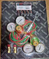 Gentec Small Torch Kit / Jewelers Torch, With Regulators & 5 Tips, Ksta16-h12sp