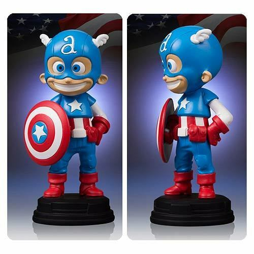 Captain America Marvel Skottie Young Statue 5  Gentle Giant