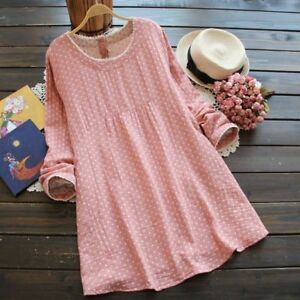 Casual-Loose-Maternity-Clothing-Dress-Cotton-Linen-Clothes-For-Pregnant-Women