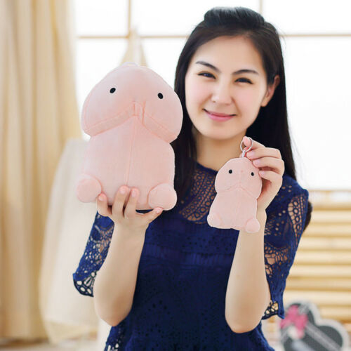 Cute Penis Plush Doll Toy Stuffed Pillow Cushion Gift Bolster Creative Dick Soft
