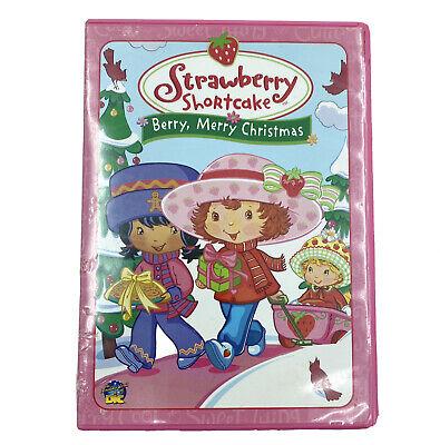 Strawberry Shortcake Berry Merry Christmas Dvd 2003 Kids