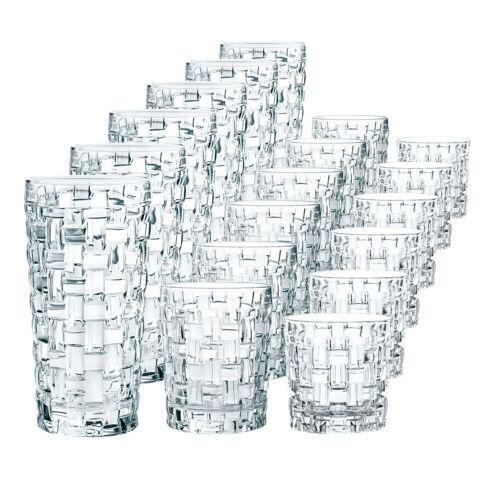 Nachtmann 103000 Bossa Nova Becherset 18tlg Trinkglas Whiskyglas Longdrinkglas