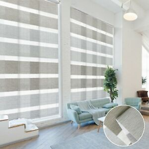Godear Deluxe Pleated Sliding Panel Panel Track Shades