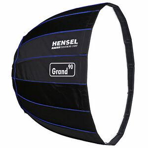 HENSEL-Grand-90-Softbox-90-cm-Lichtformer-silber