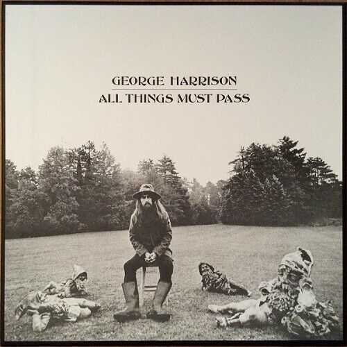 GEORGE HARRISON ALL THINGS MUST PASS NEW SEALED 180G VINYL 3LP BOX SET IN STOCK