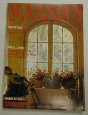 Maison & Jardin French Magazine Special Jardin Maison Celebre May 1986 101414R1
