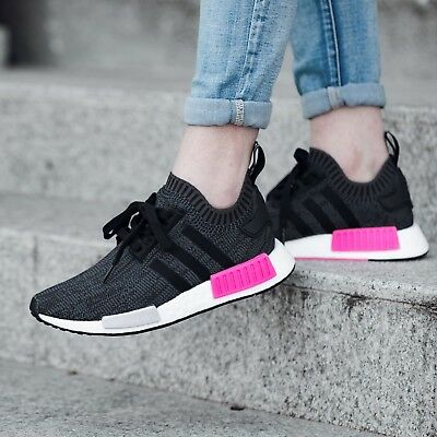 Adidas NMD PK Raw Pink US UK 3 3.5 4 5 6 6.5 7 R1 GS Damen Size Shock BB2364 | eBay