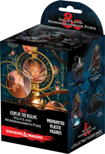 Volo /& Mordenkainen's Foes Eight Ct D/&D® Icons of the Realms Booster Brick