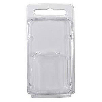 """100pc Clam Shell Packaging Display Retail Case 3 3/4"""" x 1 7/8"""" x 3/4"""" Clamshell"""