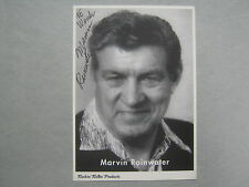 "MARVIN  RAINWATER  ""Gonna Find me a Bluebird"" Signed 4 X 6  B & W Photo/Postcard"