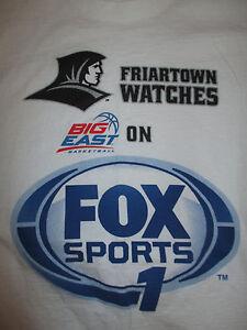 BIG-EAST-on-FOX-SPORTS-PROVIDENCE-FRIARS-Basketball-XL-Shirt