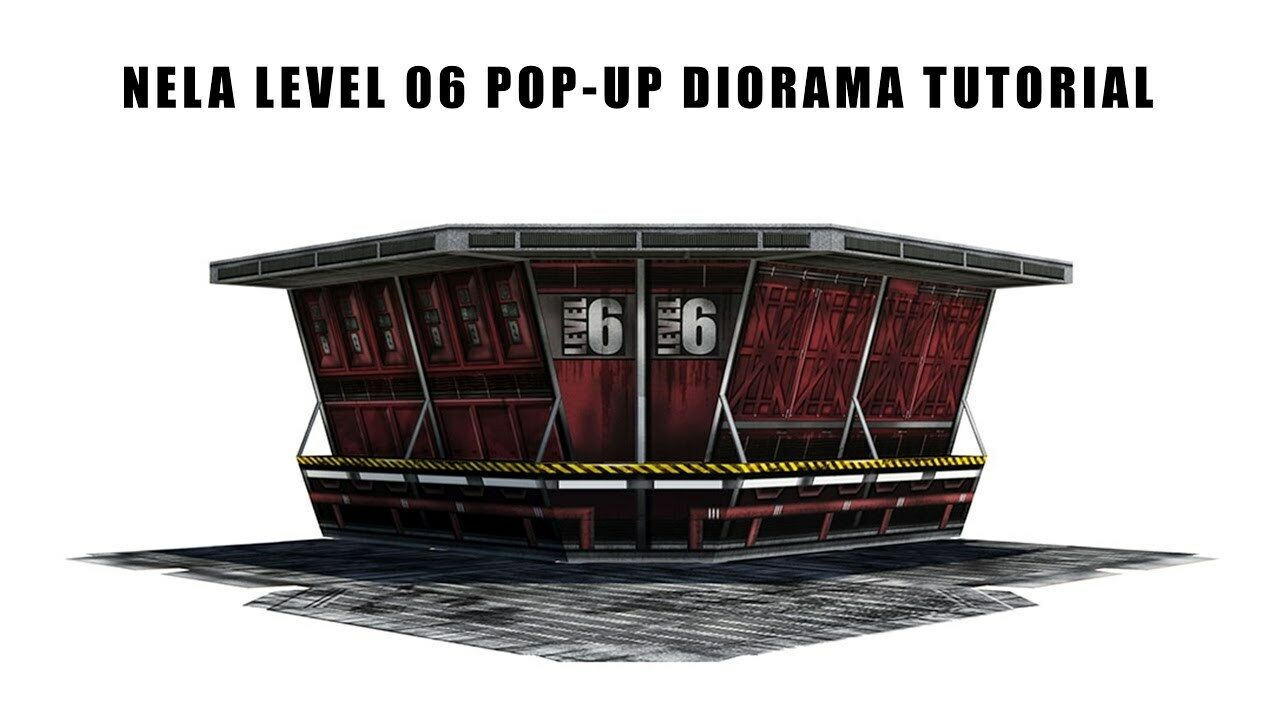 1 12 Scale Extreme Sets NELA Level 06 Pop-Up Diorama