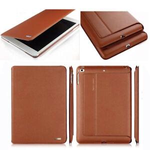 Genuine-Leather-Case-Smart-Auto-Sleep-Cover-For-iPad-2-3-4-mini-Air-9-7-039-039-10-5-039-039