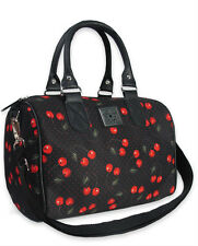 Liquor Brand Cherries Art Punk Tattoo Urban Round Bag Handbag Purse B-RB-014