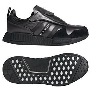Details zu adidas ORIGINALS MEN'S MICROPACER X R1 TRAINERS BLACK RARE SNEAKERS SHOES 80S