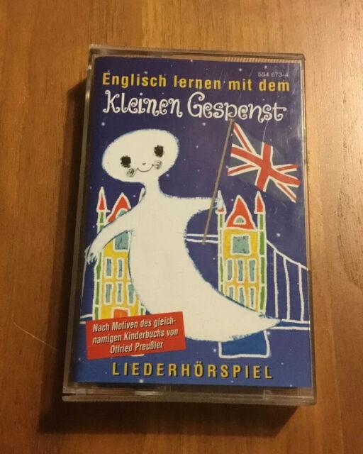 Englisch lernen mit dem kleinen Gespenst - Hörspiel Kassette  MC