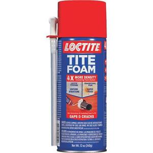 Loctite Tite Foam 12 Oz White Spray Insulation Sealant 1988753 4x More Dense Ebay