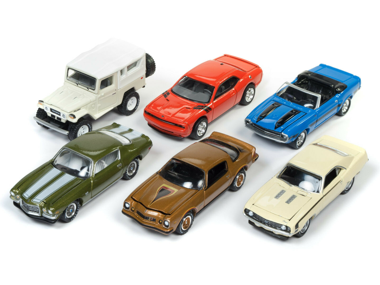 CLASSIC gold 2017 RELEASE 4 SET A OF OF OF 6 CARS 1 64 BY JOHNNY LIGHTNING JLCG012-A e7b5c2